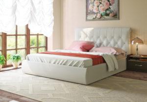 Афина 2812 160 Кровать  белая