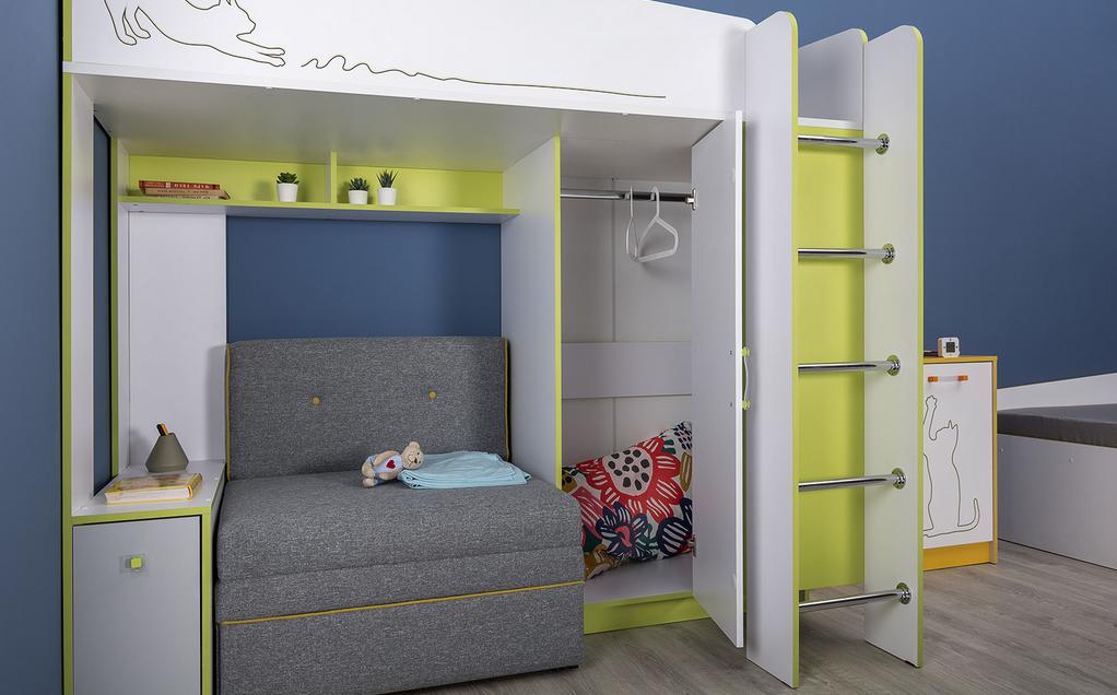 Альфа Кровать 11.20 с диванным блоком