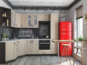 Лофт кухня модульная