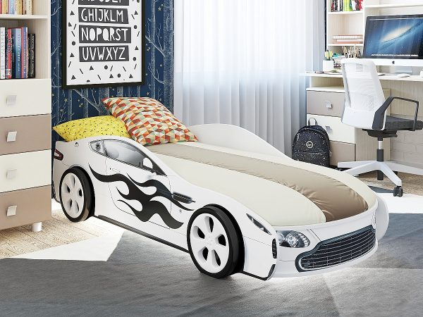 Кровать-машинка Турбо