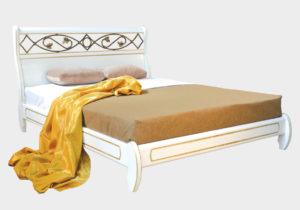 Омега Престиж Нимфа кровать без спинки в ногах