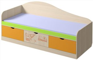 Кровать «Почемучка» с ящиками