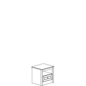 Леон 542 Тумба прикроватная