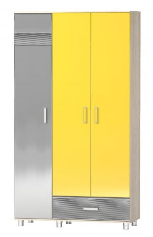 Шкаф трехстворчатый «Алешка» МДФ