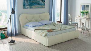 Лавита 253 160 Кровать белая