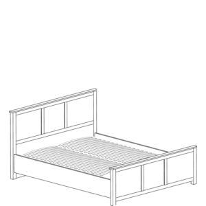 Инна 633 Кровать двойная 1400