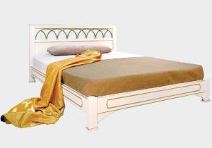 Омега Классика Рим кровать без спинки в ногах