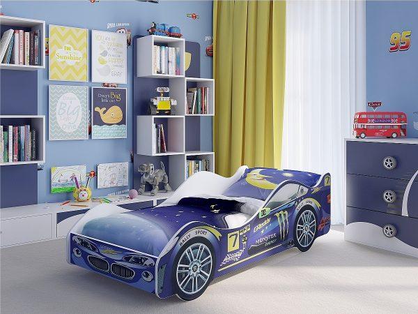 Кровать-машина Пилот