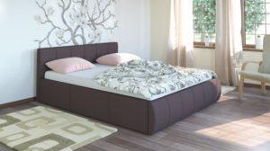 Афина 2812 160 Кровать коричневая