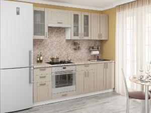 Лофт-01 (2,2) кухонный гарнитур Капучино