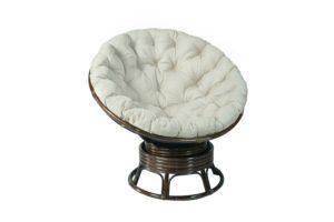 Вращающееся кресло Папасан (Papasan) плетеное из ротанга c/п Br 0726К