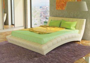 Оливия 160 Кровать белая