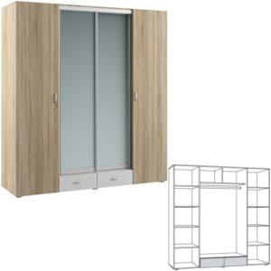 Линда 312 Шкаф 4-дверный
